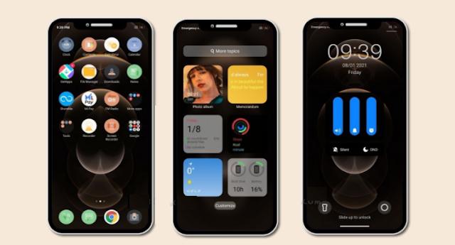 Tema Xiaomi : Tema iPhone Pro Untuk MIUI dengan Desain dan Fitur iOS yang Keren