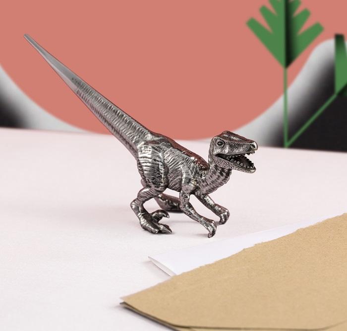 Dinosaurs Stationery From Royal Selangor Velociraptor Letter Opener