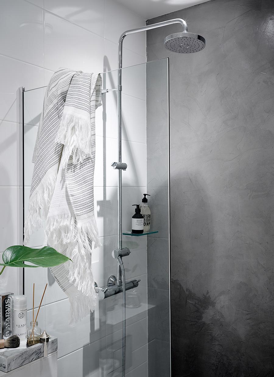jak urządzić łazienkę z prysznicem