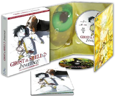 GHOST IN THE SHELL 2 INNOCENCE. Bluray ed. coleccionistas.