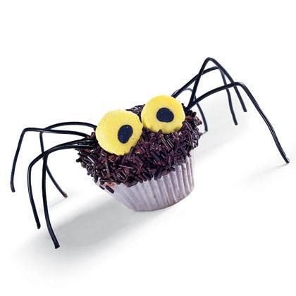 Hairy Daddy Longlegs Cupcakes Recipe