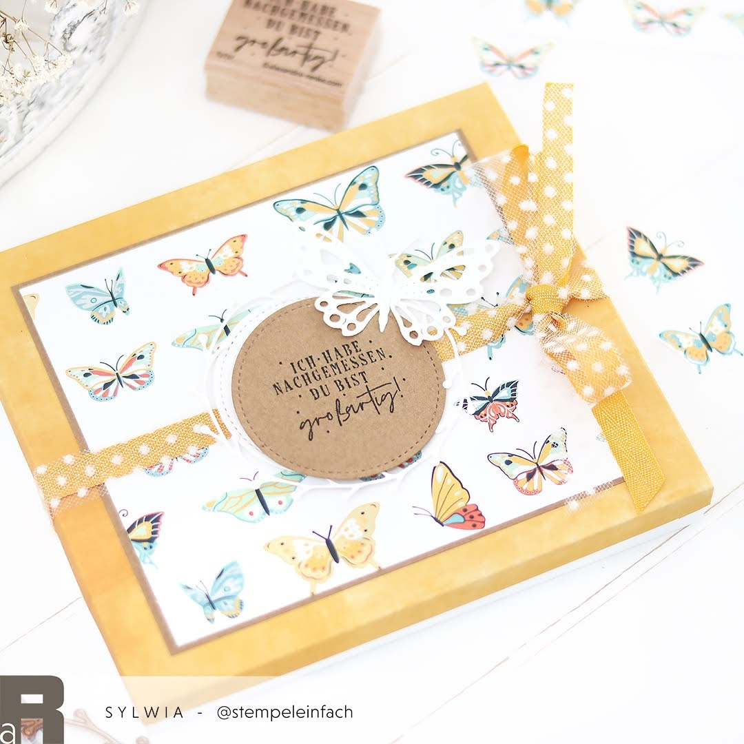 Verpackung Folk-Art Schmetterlinge