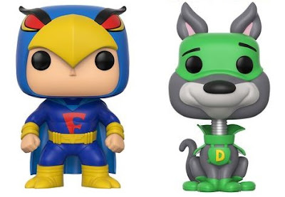 Emerald City Comicon 2017 Exclusive DynoMutt & Blue Falcon Pop! Hanna-Barbera Vinyl Figures by Funko