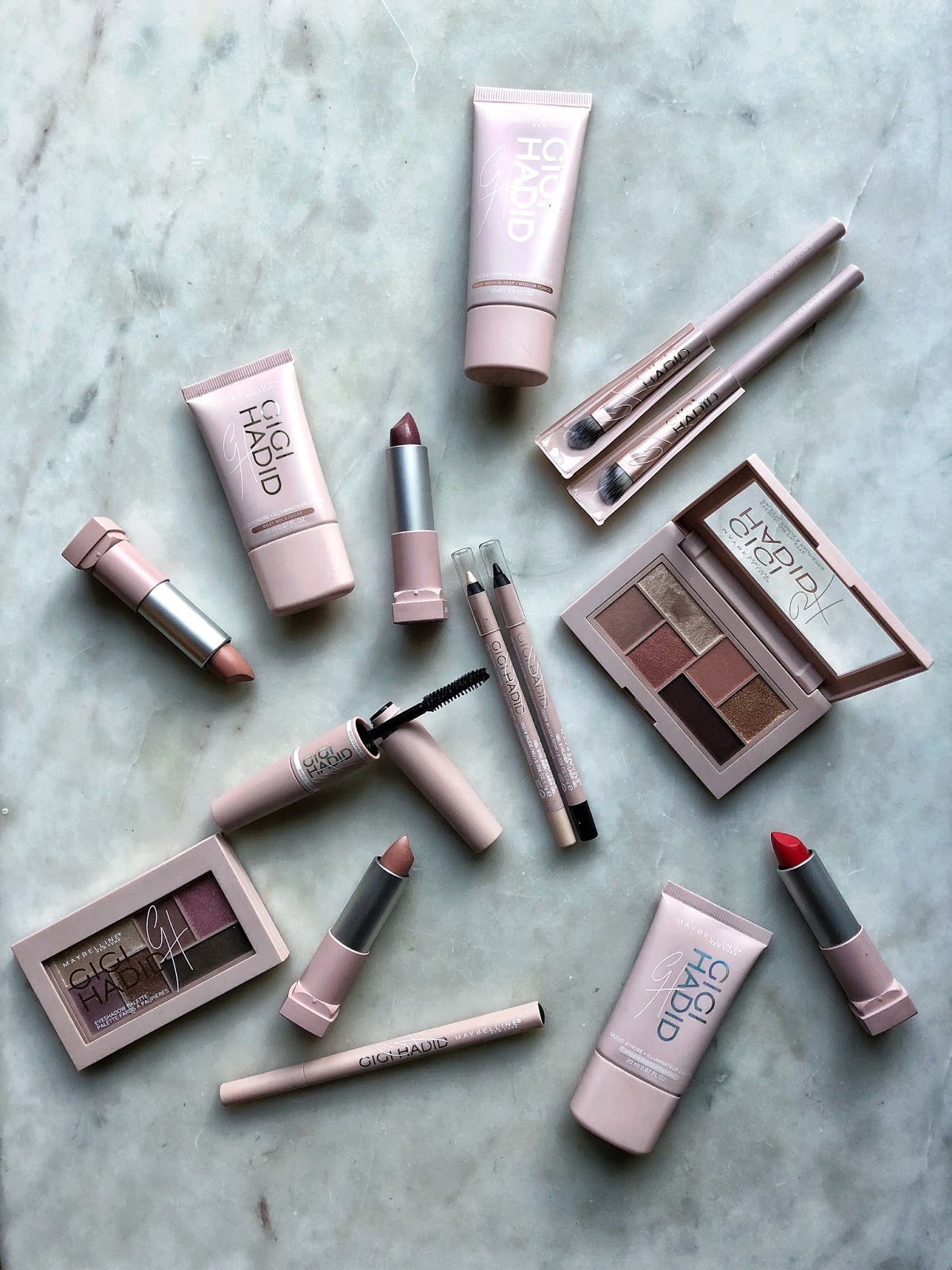 Maybelline New York Gigi Hadid Collection: A quick review