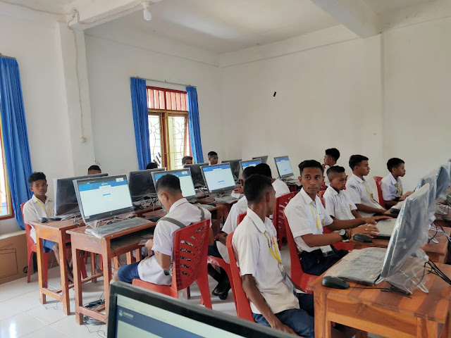 SMP 7 September 99 Atambua Umumkan Kelulusan Di Hari Lingkungan Hidup Sedunia