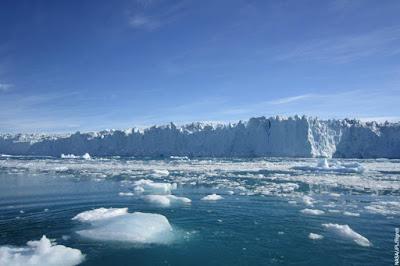 YA ES INEVITABLE :  EL DESHIELO DE LA ANTARTIDA PROVACARA UN AUMENTO DE 2,5 METROS EN LOS OCEANOS