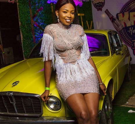 Lady Calls Out BB Naija Star, Cindy Okafor For Wearing Cloth She Didn't Pay For