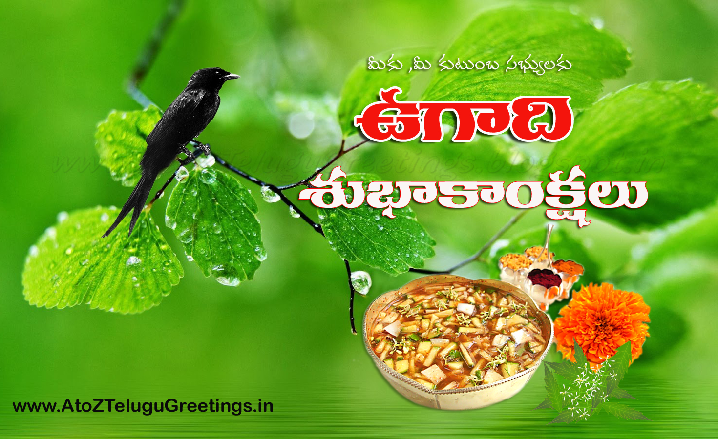 Best Ugadi Telugu Greetings In 2016