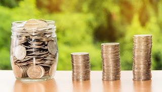 Ilustrasi Tumpukan Uang Koin