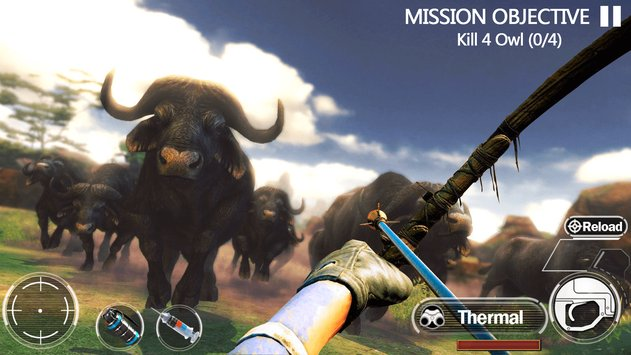 Animal Hunting Forest Shooter MOD APK terbaru