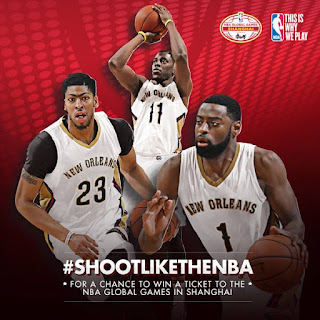 #SHOOTLIKETHENBA For A Chance To Watch The NBA Global Games In Shanghai For Free