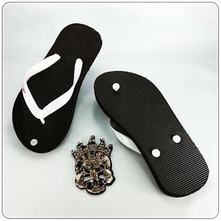 Jepit ABBE Polos Warna distributor sandal murah