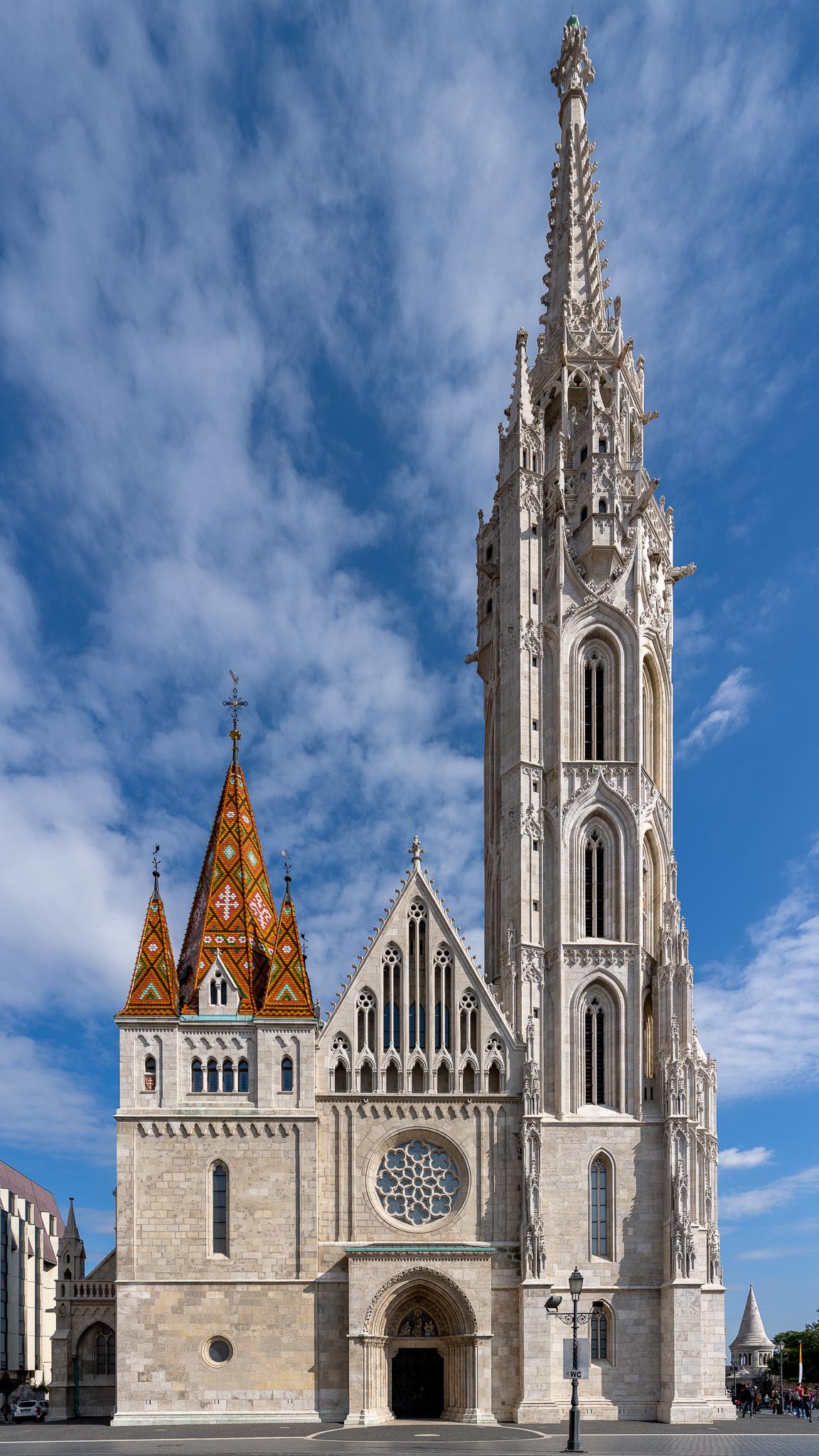 a photo of matthias church in budapest