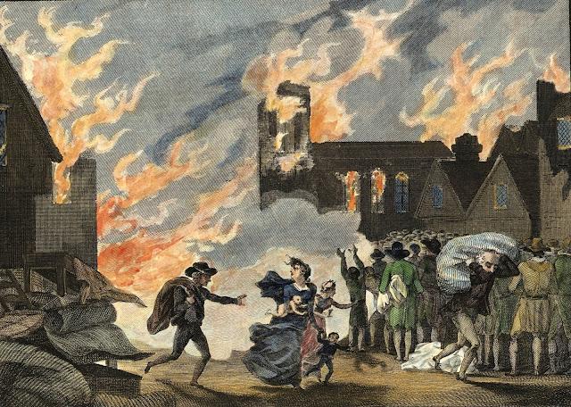 اسباب حريق لندن الكبير