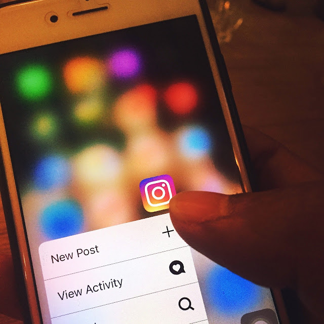 instagram on the mobile