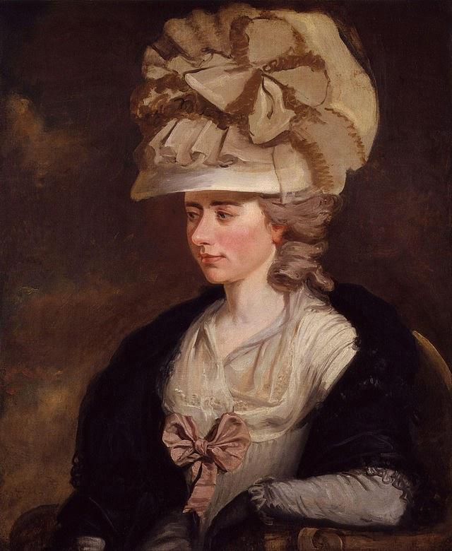 Frances d'Arblay (Fanny Burney) by Edward Francisco Burney, 1784