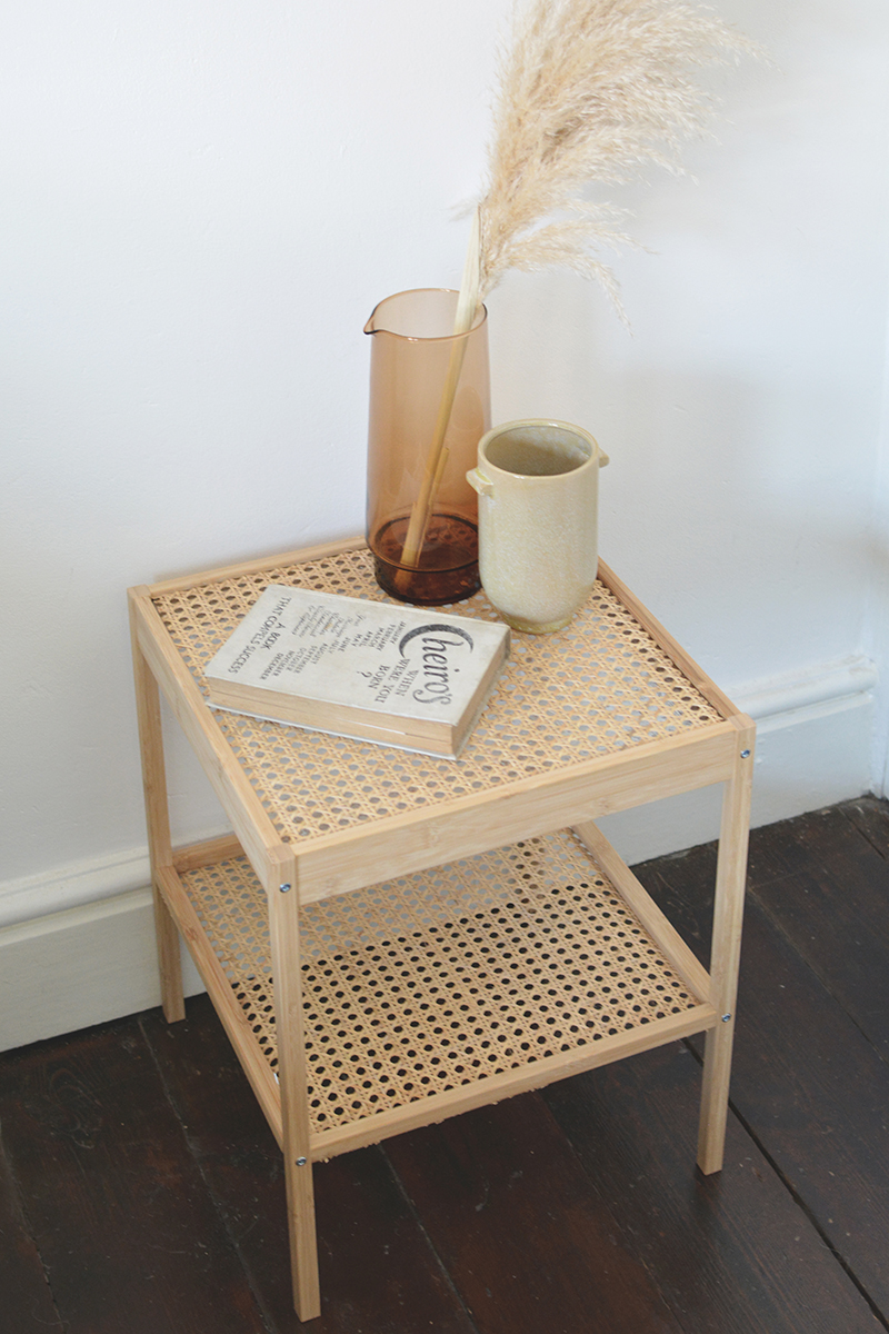 cane furniture ikea hack