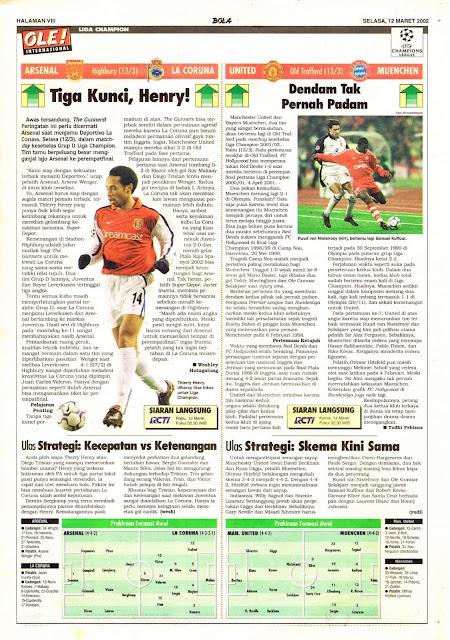 CHAMPION LEAGUE 2002 ARSENAL VS LA CORUNA