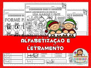 Alfabetização e letramento, Atividades de alfabetização, 2º ano, Natal,