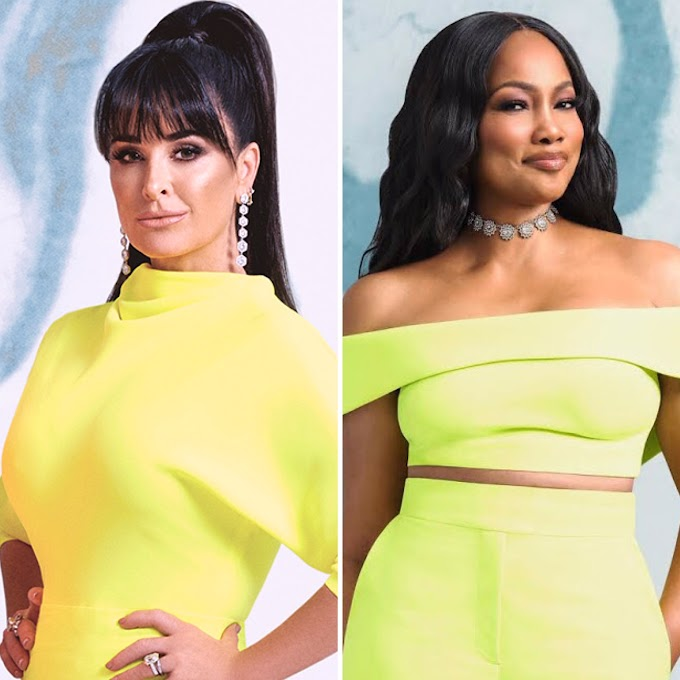 Kyle Richards Explains Why Garcelle Beauvais Wasn't Invited To The RHOBH Season 10 Reunion Wrap Party!