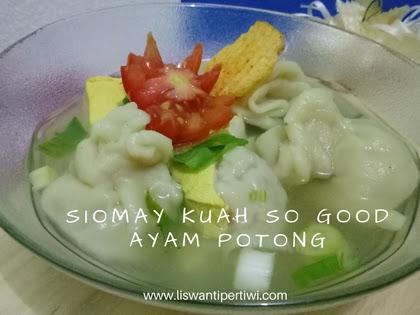Resep Siomay Ayam Kuah