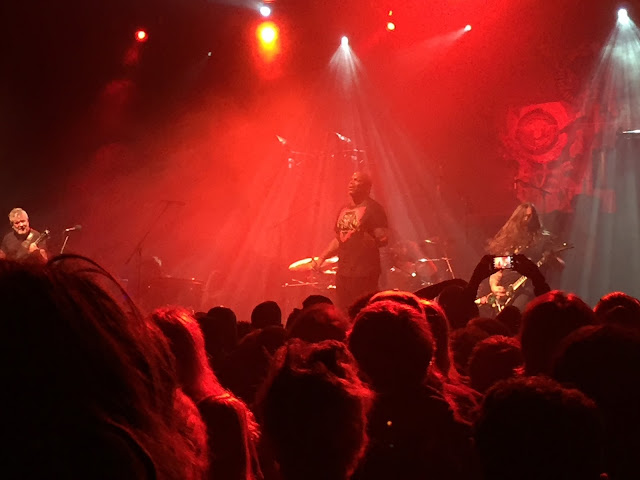 Sepultura live in Manchester February 2017