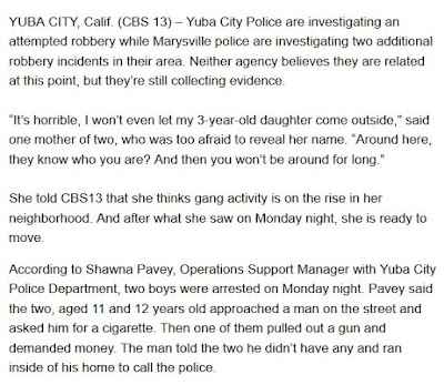 Yuba City Crime