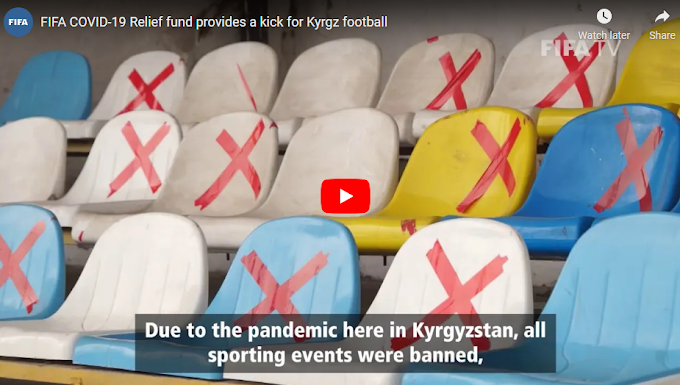 Funds from FIFA's helped restart football in Kyrgyz Republic