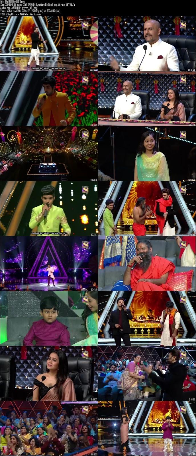 Indian Idol Season 10 03 November 2018 HDTV 480p 300Mb world4ufree.vip tv show Indian Idol Season 10 hindi tv show Indian Idol Season 10 Sony Set tv show compressed small size free download or watch online at world4ufree.vip