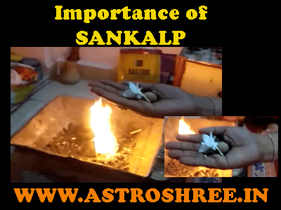 significance of taking sankalp before pooja