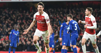 Highlight Arsenal 2-0 Chelsea, 19 Januari 2019