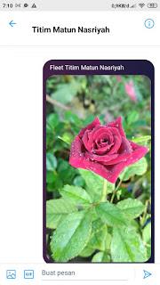 Akun Twitter milik ibu Titim Matun Nasriyah @Titimmatun ganti nama menjadi @JemparingLangit