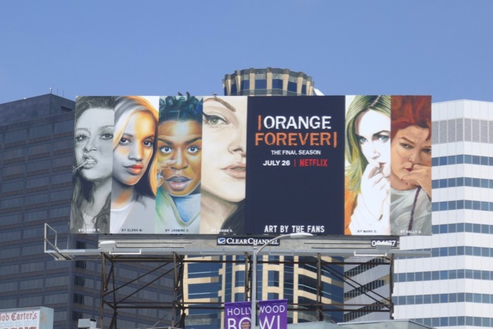 Orange Forever final season billboard