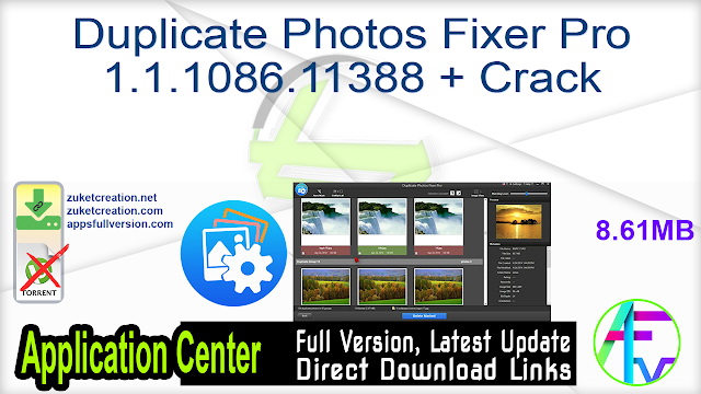 Duplicate Photos Fixer Pro 1.1.1086.11388 + Crack