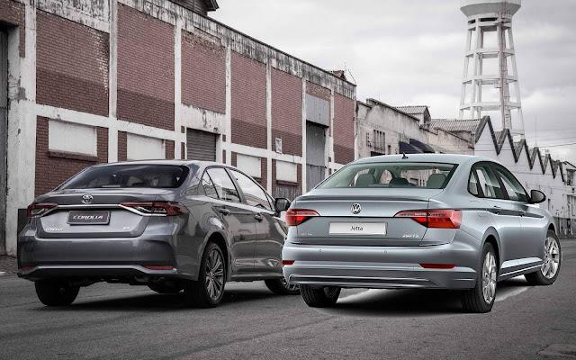 Toyota Corolla 2020 x Jetta Comfortline