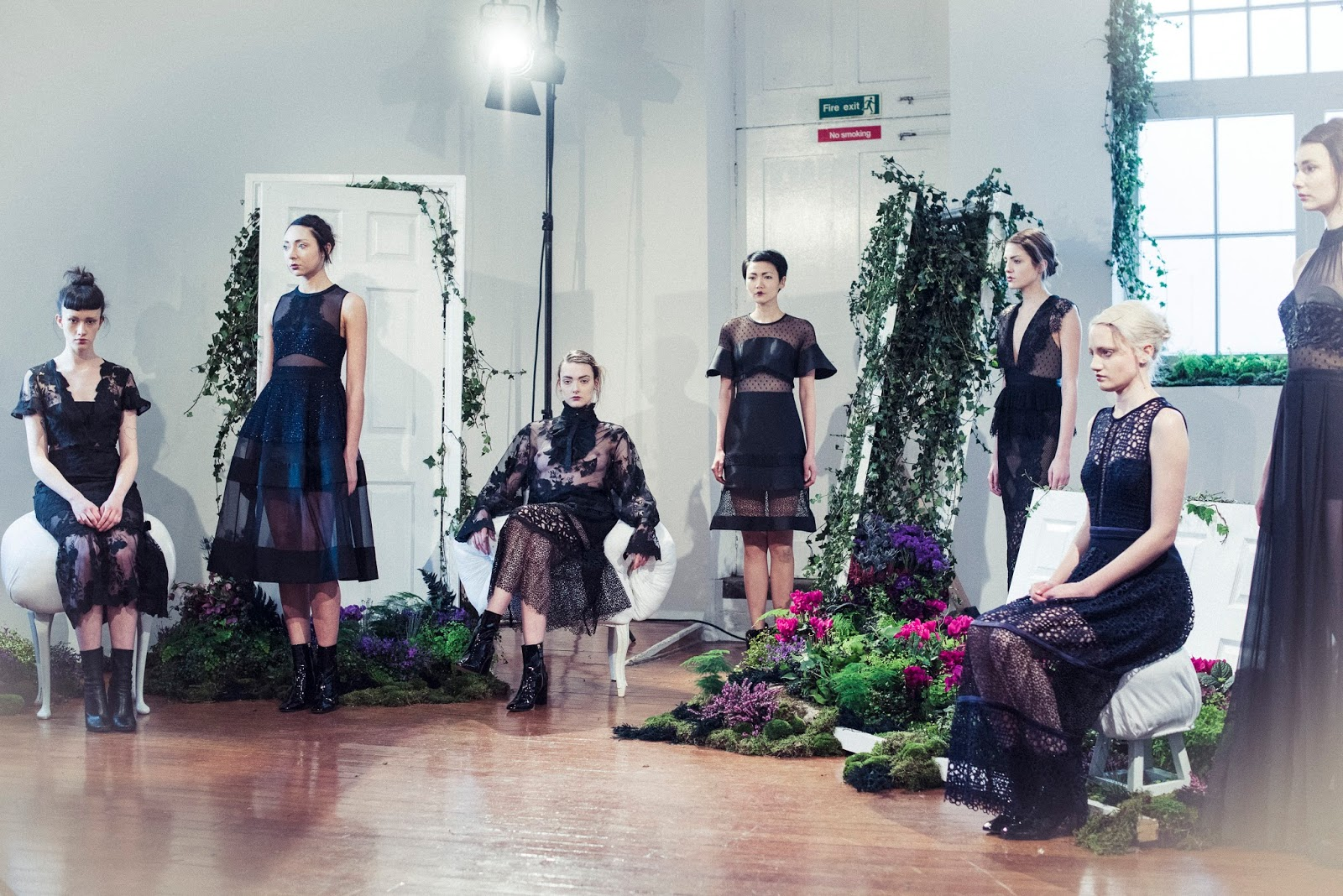 Ana Maddock- Three Floor AW16 by Morgan O'Donovan London Fashion Week