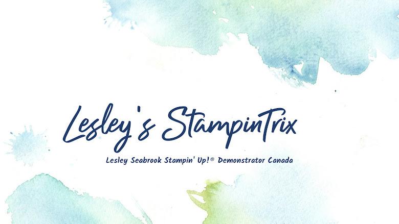 Lesley's  StampinTrix