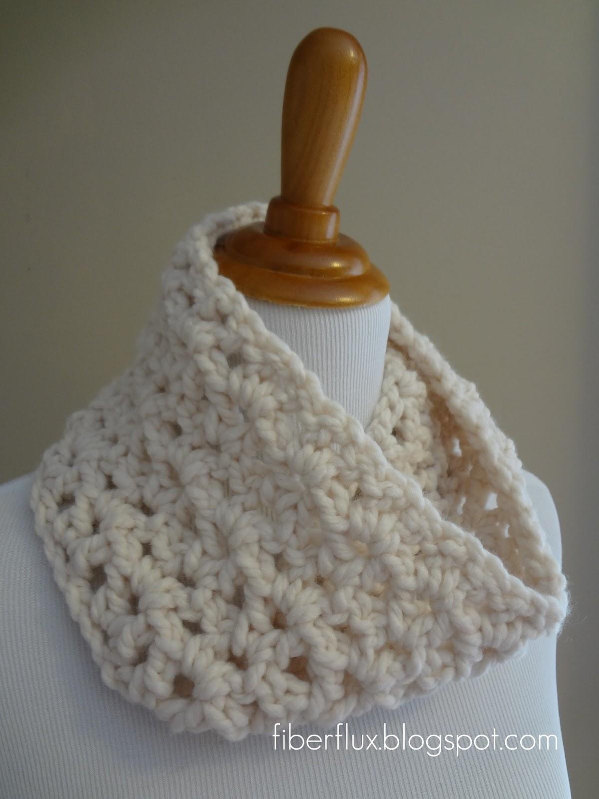 Fiber Flux: Free Crochet Pattern... Meringue Cowl