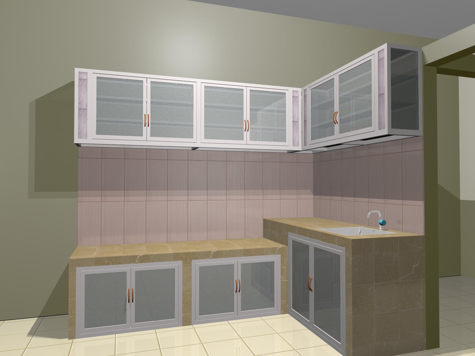 Kitchen Set Aluminium Ajibarang Purwokerto Abdillah Aluminium