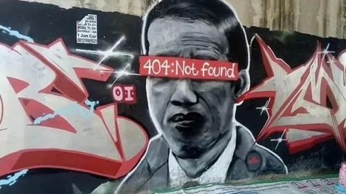 Stafsus Mensesneg Ikut-ikutan Kritik Mural Jokowi 404 NotFound, Cendikiawan NU Ini Akhirnya Bersuara