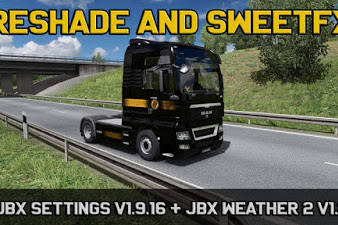 Mod JBX Settings v1.9.16 Reshade and SweetFX