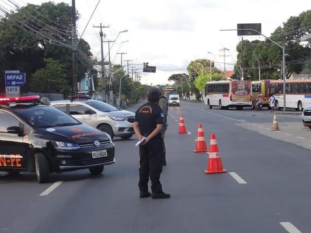 Operação Verão reforça fiscalização de trânsito no litoral de Pernambuco