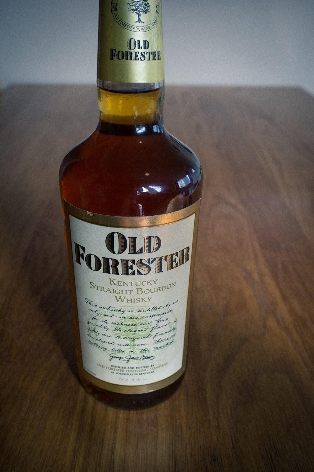 Dating old forester bottled