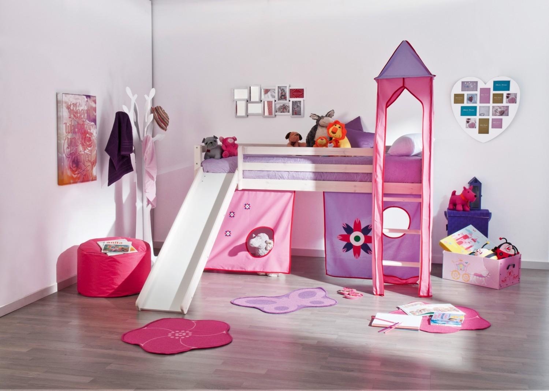 Cama infantil com escada beliches e mezzanines for Camas ninos conforama