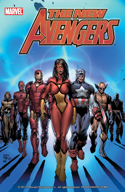 new avengers marvel comics