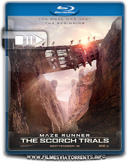 Maze Runner: Prova de Fogo Torrent – BluRay Rip 720p e 1080p Dublado