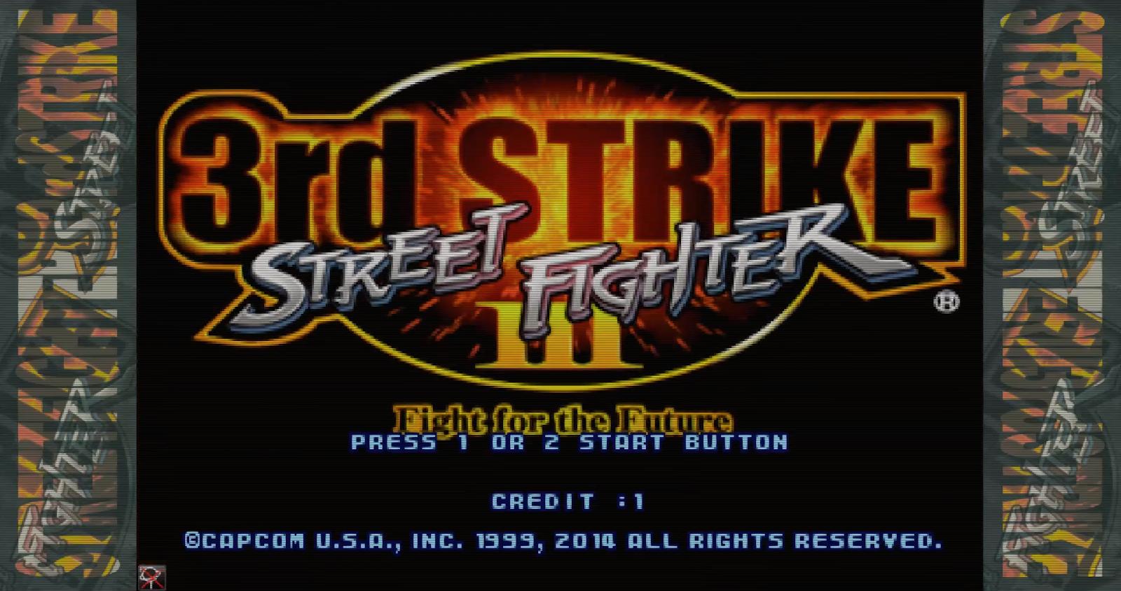 Street Fighter 3 Third Strike Arcade Dump
