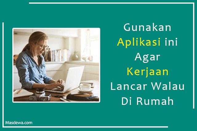 aplikasi pendukung work from home