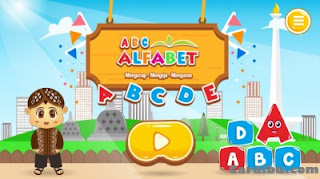 Aplikasi Belajar Huruf ABC untuk anak belajar membaca