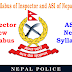 New Syllabus of Nepal Police Inspector (INS) and Assistant Sub-Inspector (ASI) of Police